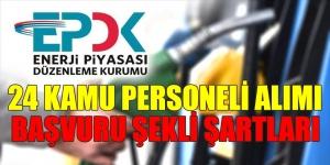 EPDK 24 Kamu Personeli Alacak