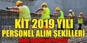 KİT 2019 Yılı Personel Alım Şekilleri Kaynak: KİT 2019 Yılı Personel Alım Şekilleri
