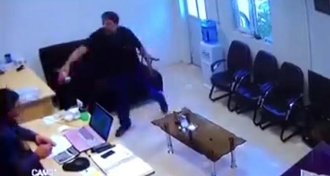 Asitli Saldırı Güvenlik Kamerasında!