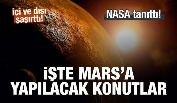 NASA, Mars İçin Konut Projelerini Tanıttı