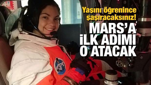 Mars'a İlk Ayak Basacak Kişi 17 Yaşında
