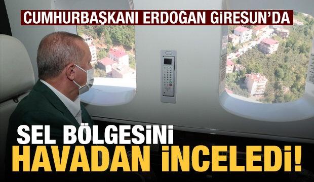 Cumhurbaşkanı Erdoğan, Giresun'da! Bölgeden İlk Fotoğraflar...