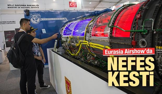 Eurasia Airshow'un Gözdesi Türk Havacılık Unsurları