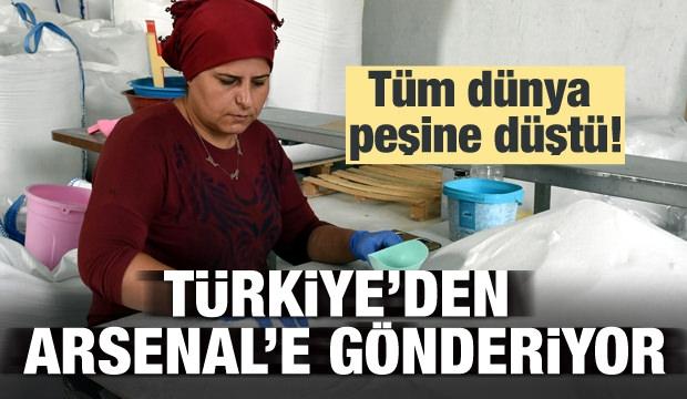 Dünya Peşinde! Türkiye'den Arsenal'e Gönderiyor