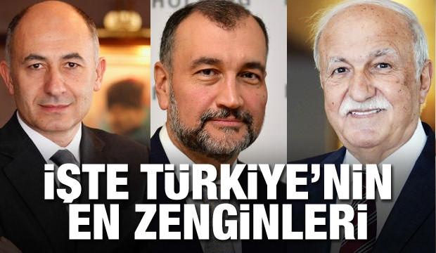 İşte En Zengin Türkler Ve Servetleri