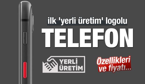 İşte İlk 'Yerli Üretim' Logolu Telefon!