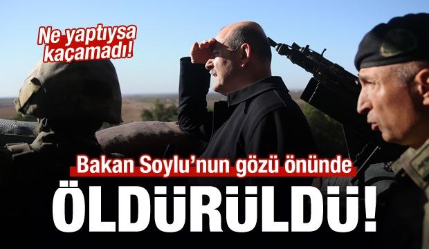 Bakan Soylu'nun Gözü Önünde Bir Terörist Öldürüldü!