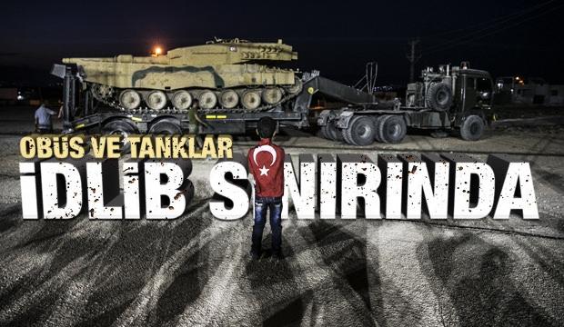 Obüs Ve Tanklar İdlib Sınırında!