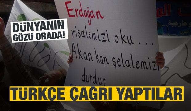 Türkiye'ye Çağrı: Buraya da Gelin!