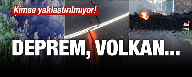 Deprem Fırtınası ve Volkan Birlikte...
