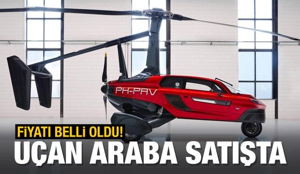 Uçan Araba Nihayet Satışta, İşte Fiyatı!