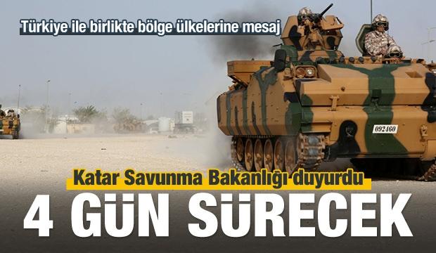 Katar - Türkiye Askeri Tatbikatı