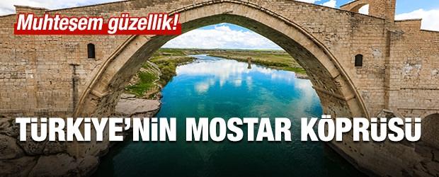 Burası Türkiye'nin Mostar Köprüsü