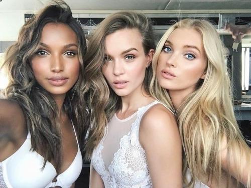 Victoria Secret'ın Gizli Melekleri ve Makyajsız Halleri