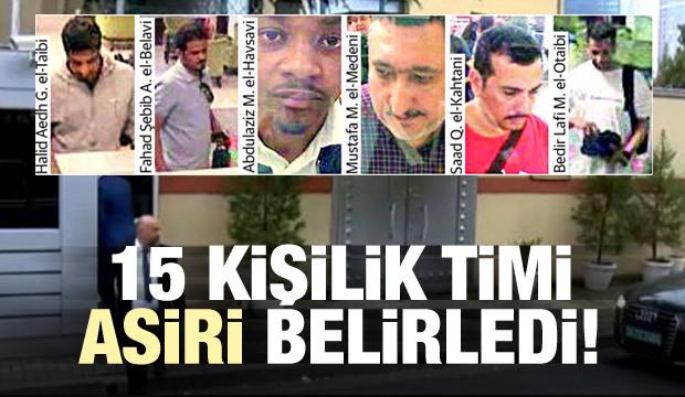15 Kişilik Timi Asiri Belirledi!