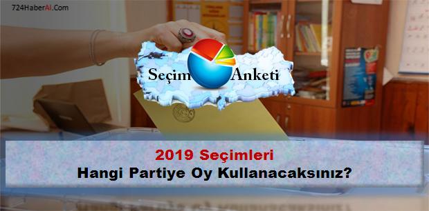 Bu Pazar Seçim Olsa Hangi Partiye Oy Kullanacaksınız?
