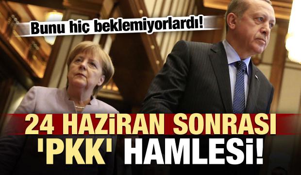24 Haziran sonrası şaşkına çeviren 'PKK' hamlesi!