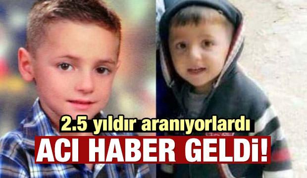 2.5 yıl önce kaybolan çocuktan acı haber!