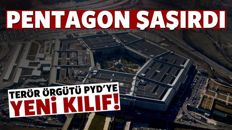 ABD, PYD/PKK'ya yeni kılıf uydurdu!