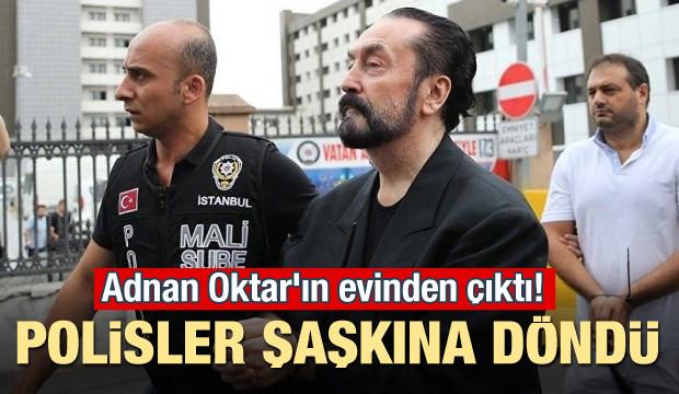 Adnan Oktar'ın evinden çıktı! Polisler şaşkına döndü