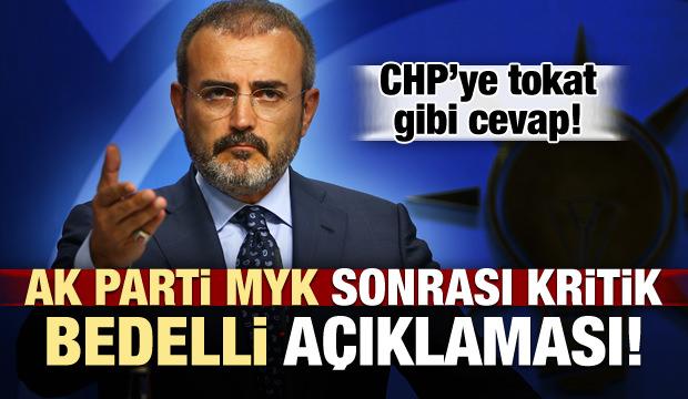 AK Parti MYK Sonrası '21 Gün' Açıklaması!