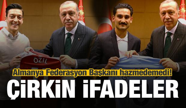 Almanya'dan skandal 'Erdoğan' açıklaması