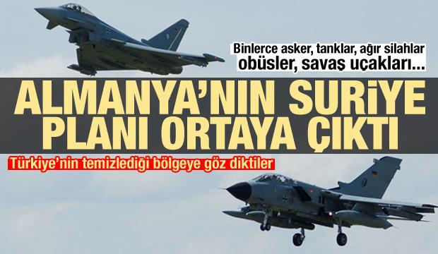 Almanya'nın Türkiye karşıtı Suriye planı ortaya çıktı