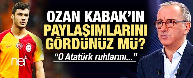 Altaylı: Ozan Kabak'ın paylaşımlarını gördünüz mü?