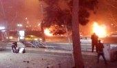 Ankara Kızılay'daki Patlama Anı Güvenlik Kamerasında