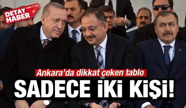 Ankara'da dikkat çeken tablo