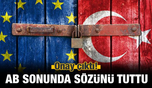 Avrupa Birliği Türkiye'ye ödemeyi onayladı