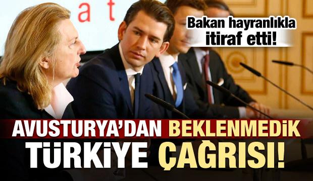 Avusturya'dan şaşkına çeviren 'Türkiye' çağrısı
