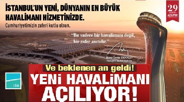 Beklenen an geldi! İstanbul'da tarihi gün