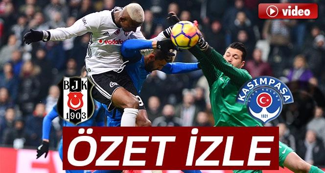 Beşiktaş 2-1 Kasımpaşa (Maç Sonucu)