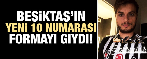 Beşiktaş'ın yeni 10 numarası İstanbul'da!