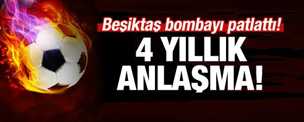 Beşiktaş'tan transfer bombası! 4 yıllık anlaşma!