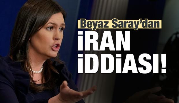 Beyaz Saray'dan İran iddiası