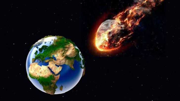 Bu Sefer Açıklama NASA'dan: Büyük Bir Göktaşı Dünya'ya Çarpabilir