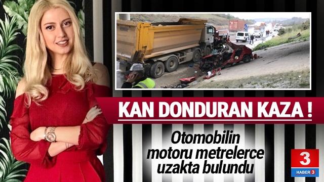 Bursa'da korkunç kaza: Genç kadın mühendis feci şekilde can verdi