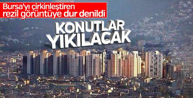 Bursa'daki Çirkin Konutlar Yıkılacak!