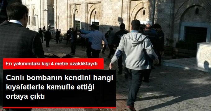 Bursa'daki Saldırıyı Gerçekleştiren Canlı Bombanın Kamuflajı