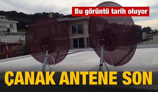 Çanak Antene Son!
