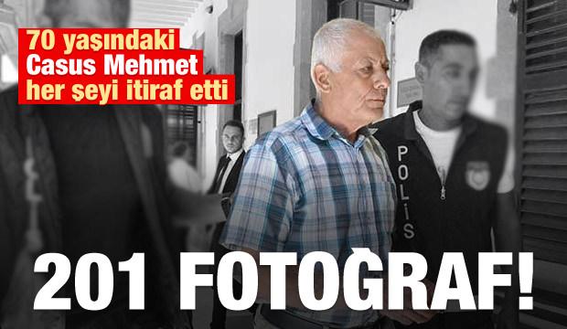 'Casus Mehmet' Rumlar İçin 201 Fotoğraf Çekmiş!