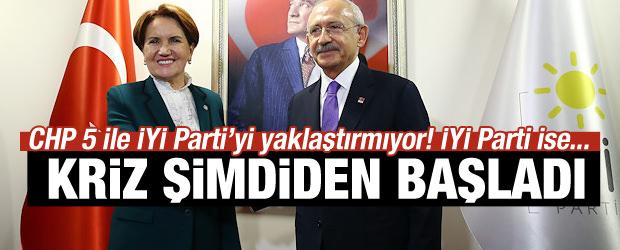 CHP ile İYİ Parti arasında sıkı pazarlık!