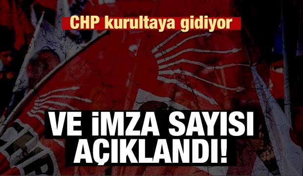CHP Olağanüstü Kurultaya Gidiyor!