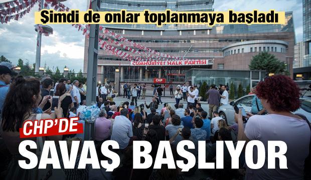 CHP'de kaos büyüyor! Taraflar karşı karşıya geldi