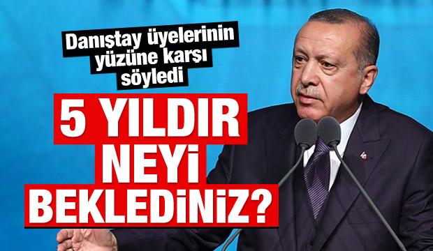 Cumhurbaşkanı Erdoğan'dan çok sert 'Ant' tepkisi