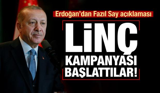 Cumhurbaşkanı Erdoğan: Fazıl Say konseri daveti gelir gelmez...