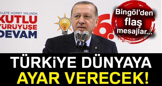 Cumhurbaşkanı Erdoğan: 'Türkiye Dünyaya Ayar Veren Bir Ülke Olacak'
