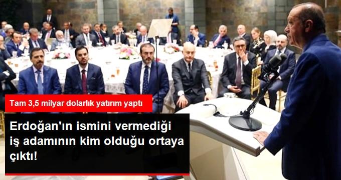 Cumhurbaşkanı'nın Bahsettiği 3,5 Milyar Dolar Yatırım Yapan İş Adamı İbrahim Erdemoğlu